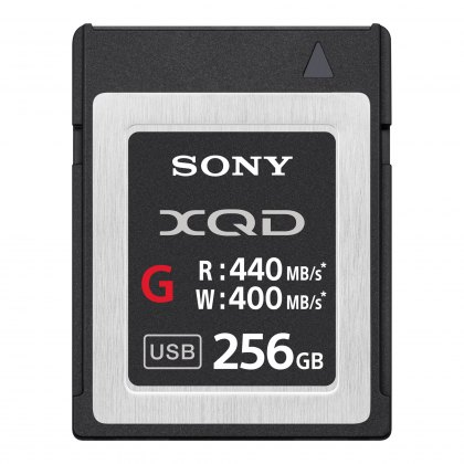 Sony XQD card G, 256GB 440 Read/400 Write Pro