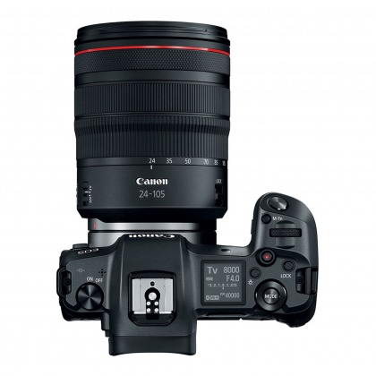 Canon EOS R, 24-105 L with Adapter EF-EOS R