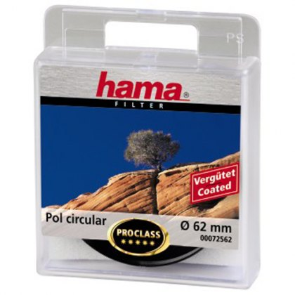 Hama 62mm Circular Polarising filter