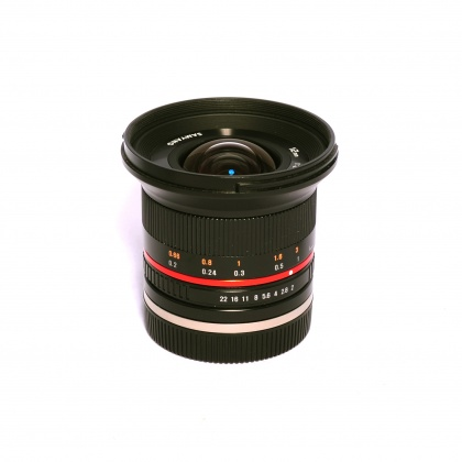 Used Samyang 12mm f2 for Sony E mount