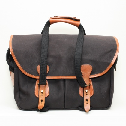 Used Billingham 335 Black Canvas Shoulder Bag