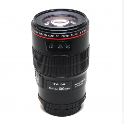 Used Canon EF 100mm f2.8 L IS Macro