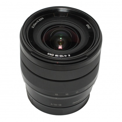 Used Sony E 10-18mm f4