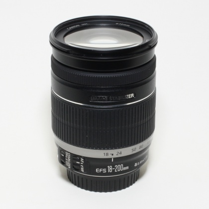 Used Canon EF-S 18-200 f/3.5-5.6 IS