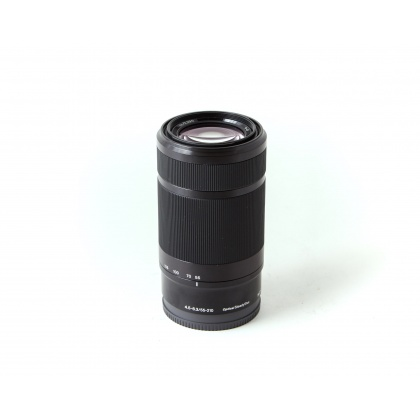 Used Sony E 55-210mm F4.5-6.3, black