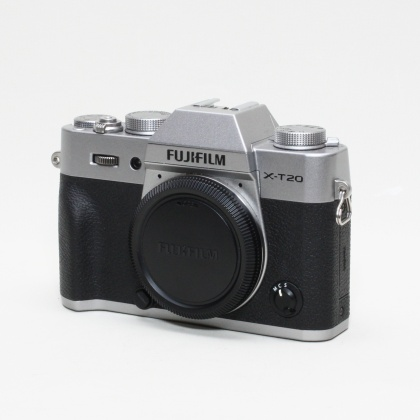 Used Fujifilm X-T20 body, Silver