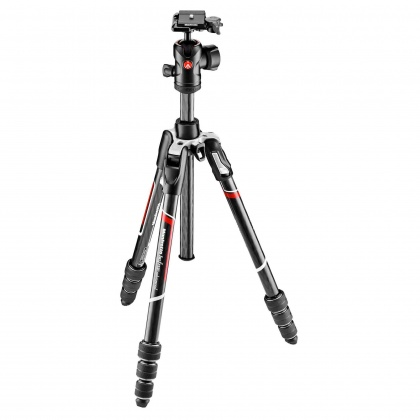 Manfrotto Befree Twist lock Carbon Fibre Tripod Kit, ball head