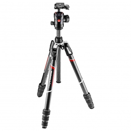 Manfrotto Befree GT Twist lock Carbon Fibre Tripod, 496 ball head