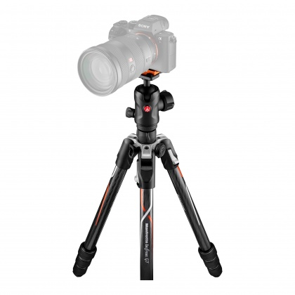 Manfrotto Befree GT Carbon Alpha Travel Tripod with Ball Head