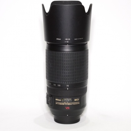Used Nikon 70-300mm f4.5-5.6 G ED