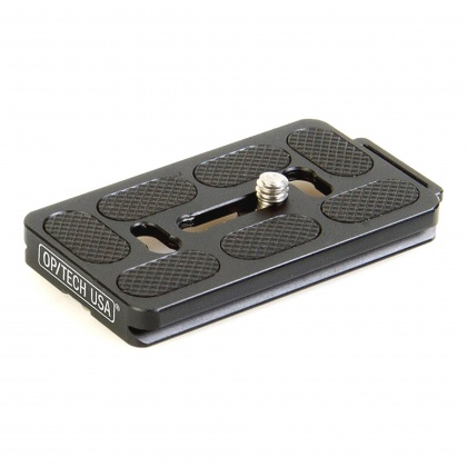 OpTech Quick Release Plate, Arca Swiss with strap loop
