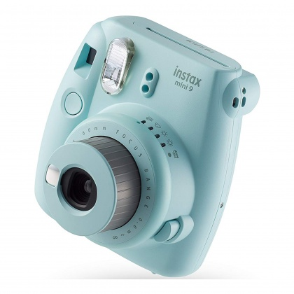 Fujifilm Instax Mini 9 Ice Blue Plus 10 Shots