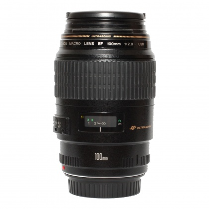Used Canon EF 100mm f2.8