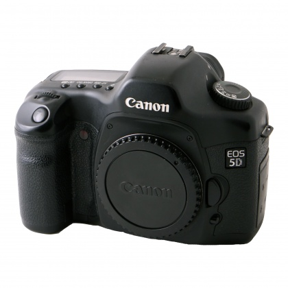 Used Canon EOS 5D body with BG-E4 Battery Grip