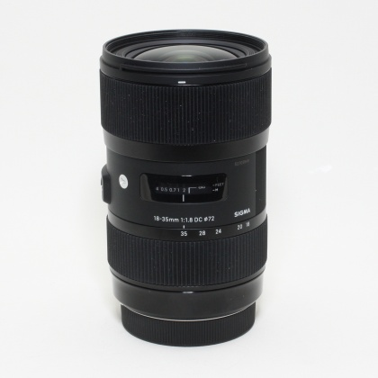 Used Sigma 18-35mm f1.8 DC for Canon EOS