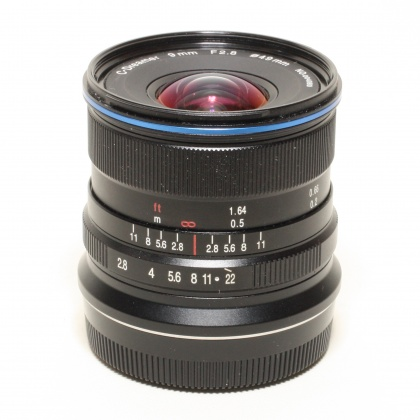 Used Laowa 9mm f2.8 for Fujifilm