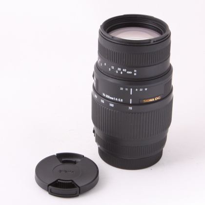 Used Sigma 70-300mm f4-5.6 for Canon EOS
