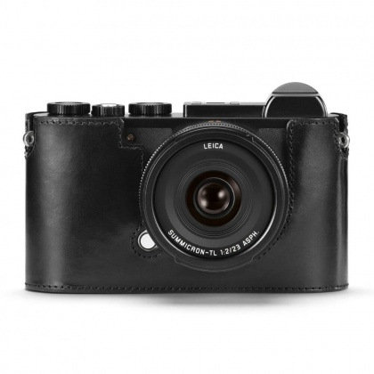 Leica Protector-CL, leather, black