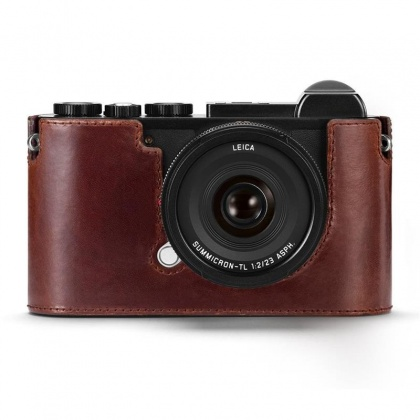 Leica Protector-CL, leather, brown