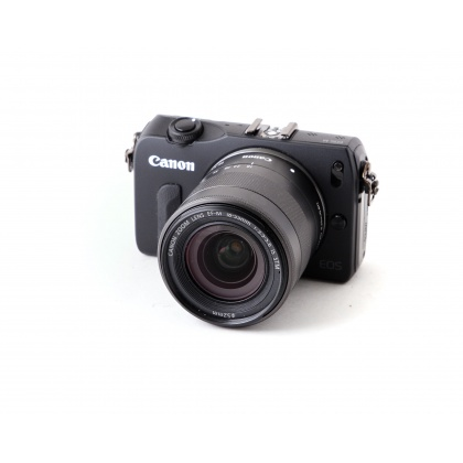 Used Canon EOS M, 18-55 IS STM