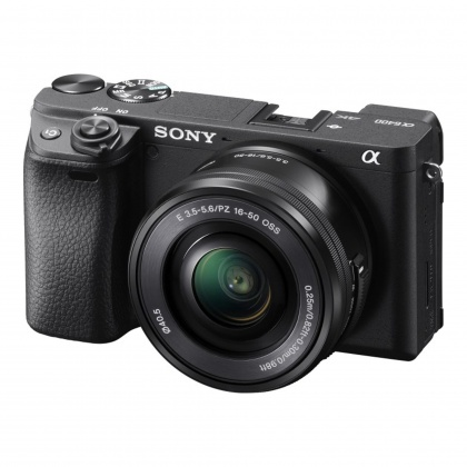 Sony Alpha 6400 Mirrorless Camera Body with 16-50mm Lens