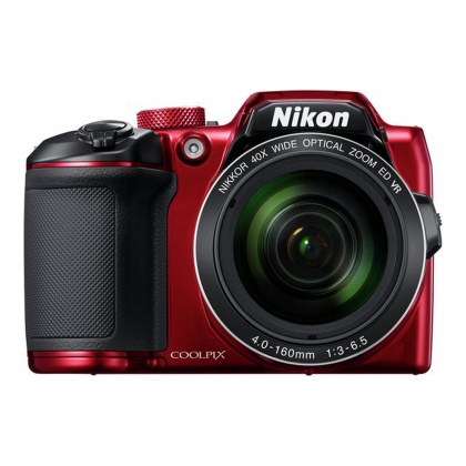 Nikon Coolpix B600, Red