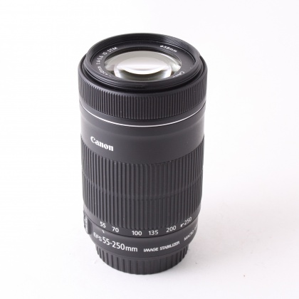 Used Canon EF-S 55-250mm f4-5.6 IS STM
