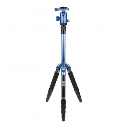 Sirui T-005BX Blue Tripod with C-10S Head