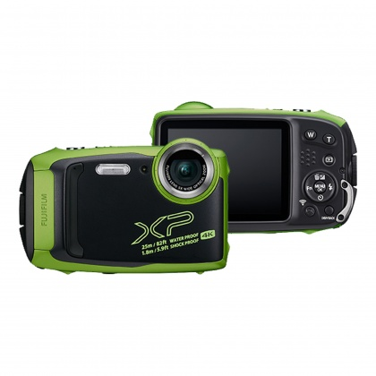 Fujifilm FinePix XP140, Lime