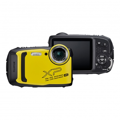 Fujifilm FinePix XP140, Yellow