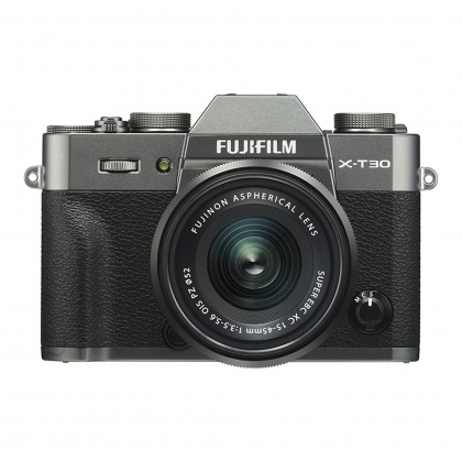 Fujifilm X-T30 with XC15-45mm lens, Charcoal Silver