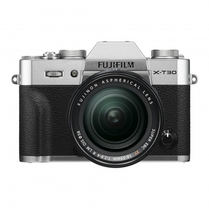 Fujifilm X-T30 with XF 18-55 lens, Silver