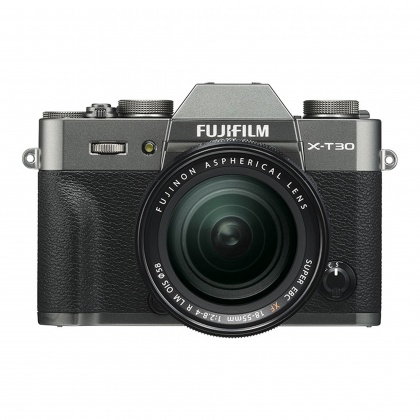 Fujifilm X-T30 with XF 18-55 lens, Charcoal Silver