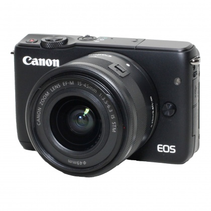 Used Canon EOS M10, 15-45 STM