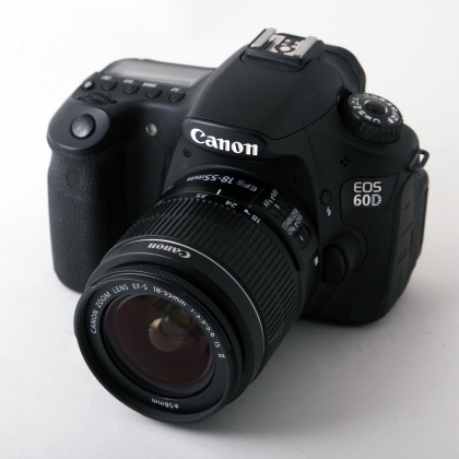 Used Canon EOS 60D, 18-55mm IS lens