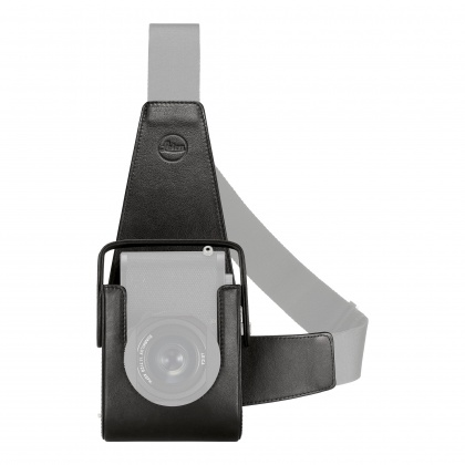Leica Holster Q2, black leather