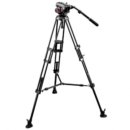 Manfrotto 546B Video Tripod with 504HD Head