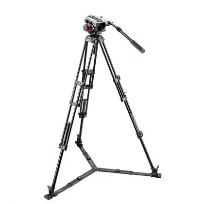 Manfrotto 546GB Video Tripod with 504HD Head