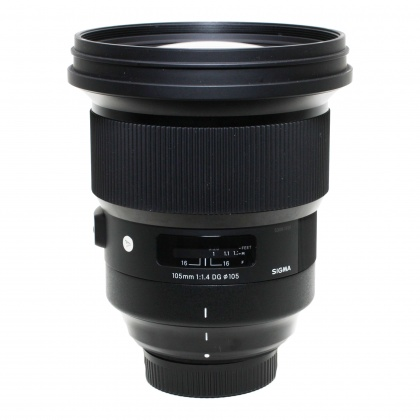 Used Sigma 105mm f1.4 DG HSM for Nikon AF