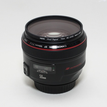 Used Canon EF 50mm f1.2 L USM