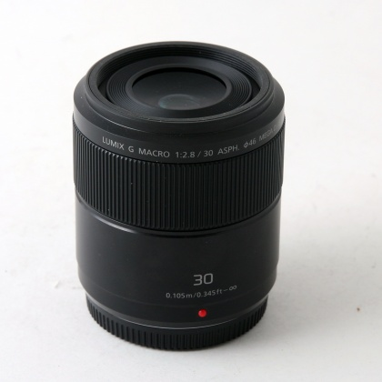 Used Panasonic 30mm f2.8 ASPH Macro