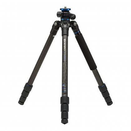Benro GoPlus Travel S1 Carbon Fibre 4 section Tripod