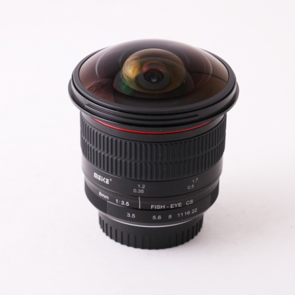 Used Meike 8mm f3.5 APS-C Fisheye for Nikon