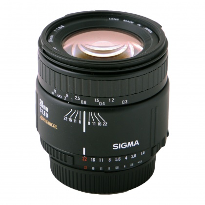 Used Sigma 28mm f1.8 II D for Nikon AF