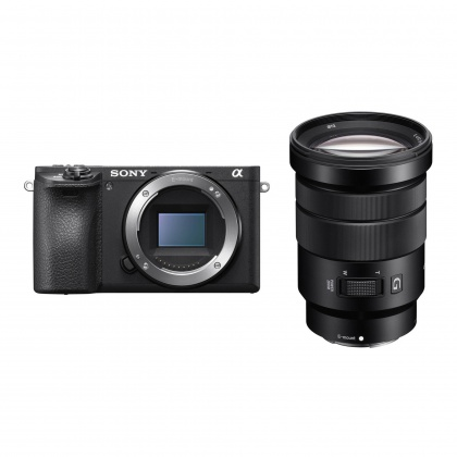Sony Alpha 6500, black, 18-105