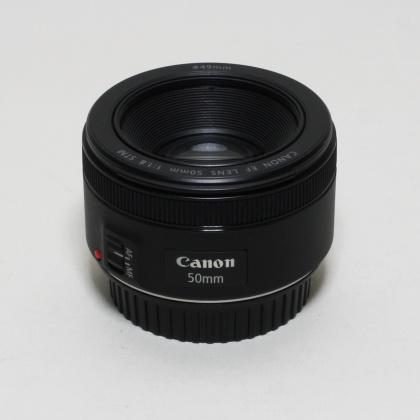 Used Canon EF-S 50mm f1.8 STM