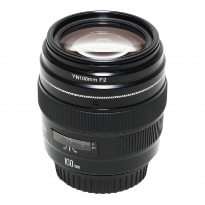 Used Yongnuo 100mm f2 for Canon EOS