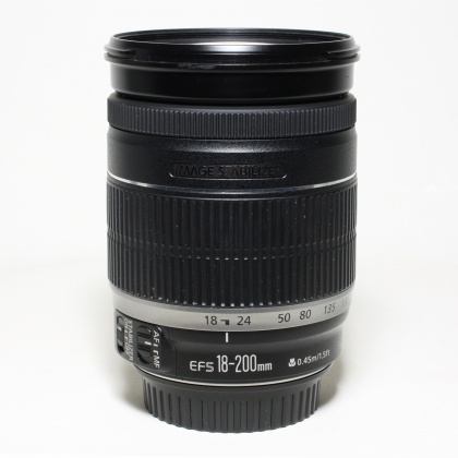 Used Canon EF-S 18-200mm f3.5-5.6 IS