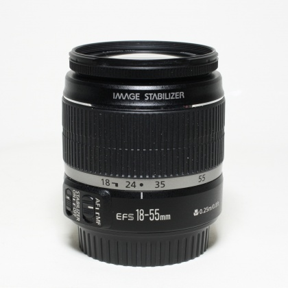 Used Canon EF-S 18-55mm f3.5-5.6 IS