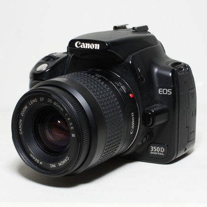 Used Canon EOS 350D, 35-80